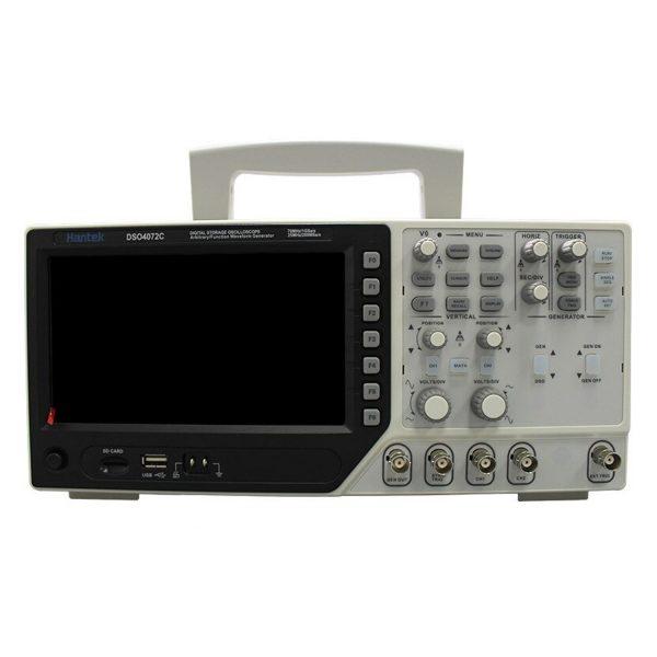 اسیلوسکوپ دیجیتال 2 کاناله 70 مگاهرتز هنتک دارای فانکشن ژنراتور
